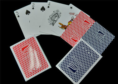 Personalized Logo Printed Paper Deck of Playing Cards Entertainment Use